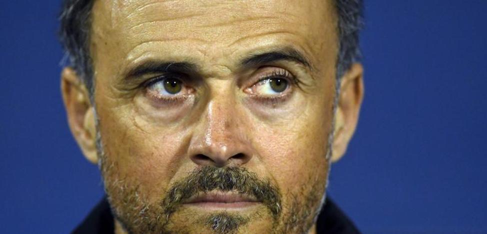 Luis Enrique: «El fútbol hoy no ha sido justo para nosotros»