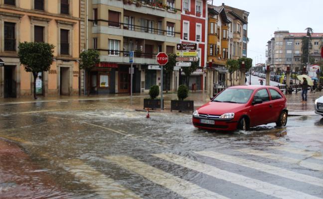Los daños del último temporal en Villaviciosa ascienden a 130.000 euros