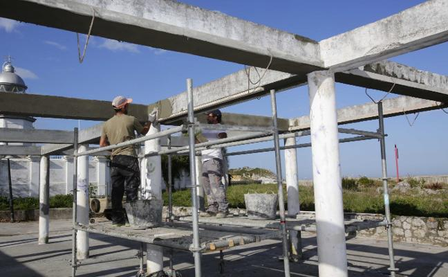 La rehabilitación del Tendederu de Llanes, en peligro por la falta de un permiso