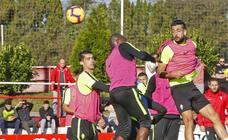 Entrenamiento del Sporting (16-11-2018)