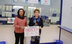El primer premio de la lotería deja en Ribadesella 300.000 euros