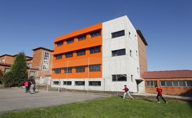 Culmina la ampliación del instituto de Roces