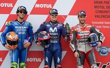 La lluvia prepara un final de año incierto para MotoGP
