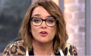 La imagen de Toñi Moreno que se ha vuelto en su contra: «Tu programa es basura»