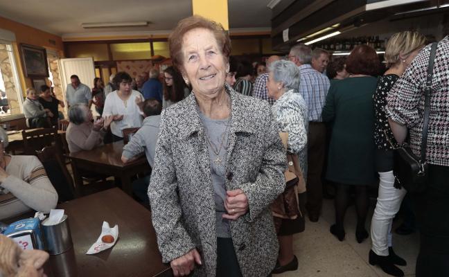 El Peñón de Fano distingue a Josefa García, la vecina más veterana