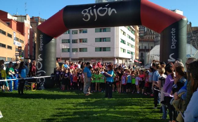 Los jóvenes corredores se adueñan del 'solarón'