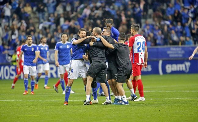 Derbi Real Oviedo - Sporting | Ibrahima: «Me gusta estar donde hay quilombo»