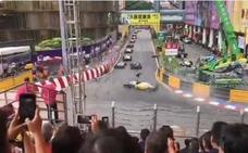 La alemana Sophia Floersch sobrevive a un brutal accidente de Fórmula 3 en Macao