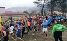Trescientas personas participan en la carrera solidaria de Toscaf en Pravia