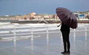 Lluvias y descenso de temperaturas en Asturias tras la tregua de este lunes