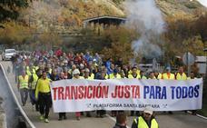La marcha minera llega a Asturias