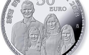 La Casa de la Moneda lanza una colección en oro y plata por los 50 años del rey Felipe VI