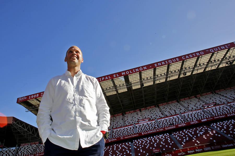 José Alberto se presenta como nuevo entrenador del Sporting