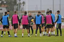 Entrenamiento del Sporting (20/11/2018)