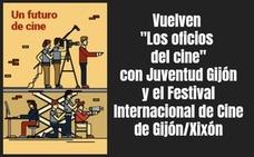 Juventud Gijón y el FICX muestran «Los oficios del cine»