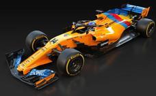 Fernando Alonso pilotará un coche único con el azul de la bandera de Asturias en su última carrera
