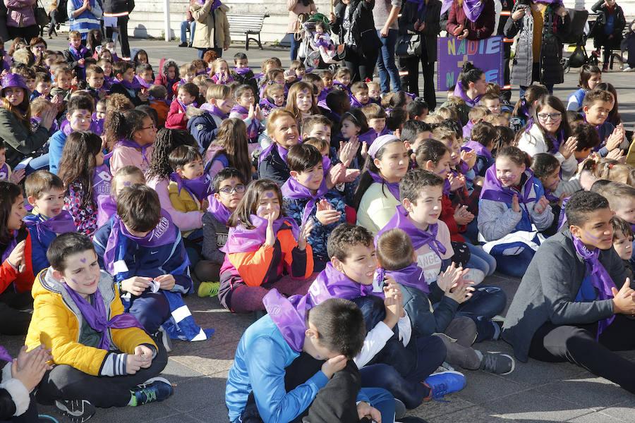 El Príncipe de Asturias, contra la violencia de género