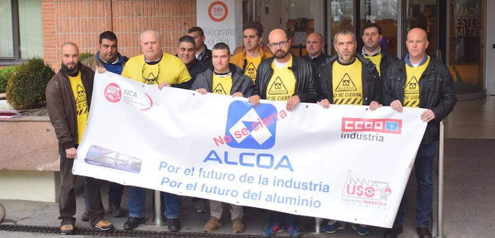Alcoa considera el ERE inamovible y traslada a los sindicatos que el Gobierno no hace nada por frenar sus pérdidas
