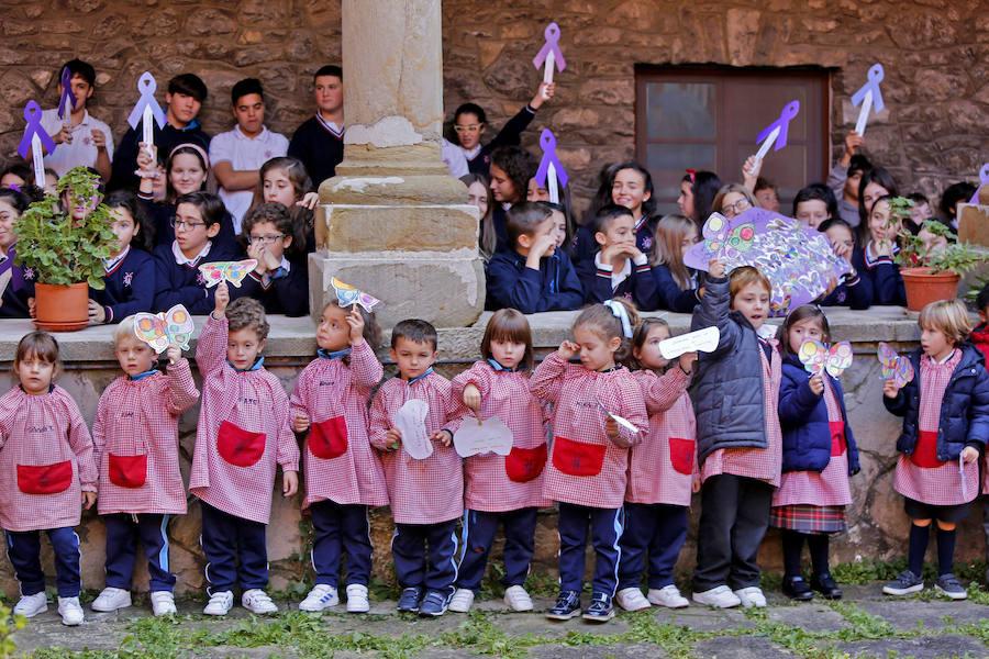 Los colegios de Gijón se unen contra la violencia de género