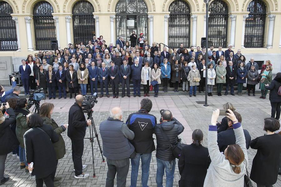 La sociedad asturiana, contra la violencia de género