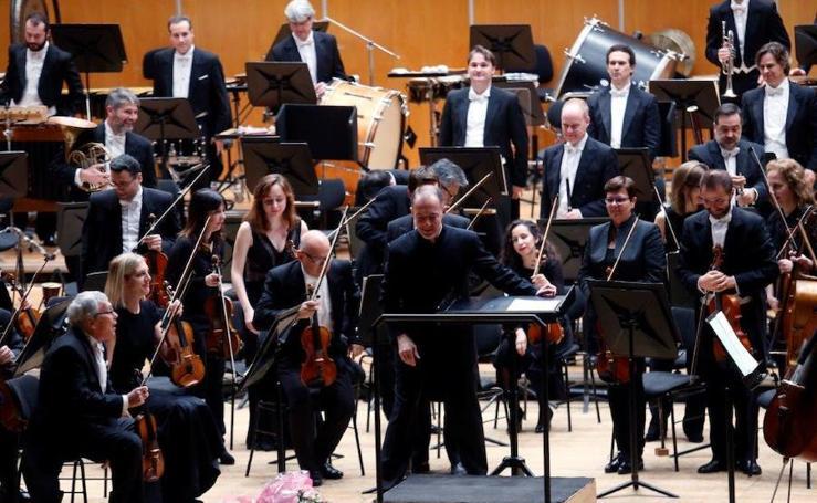 La OSPA ofrece un concierto en el Auditorio de Oviedo