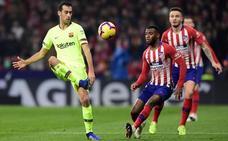 Sergio Busquets: «No pensábamos que su planteamiento iba a ser tan exagerado»