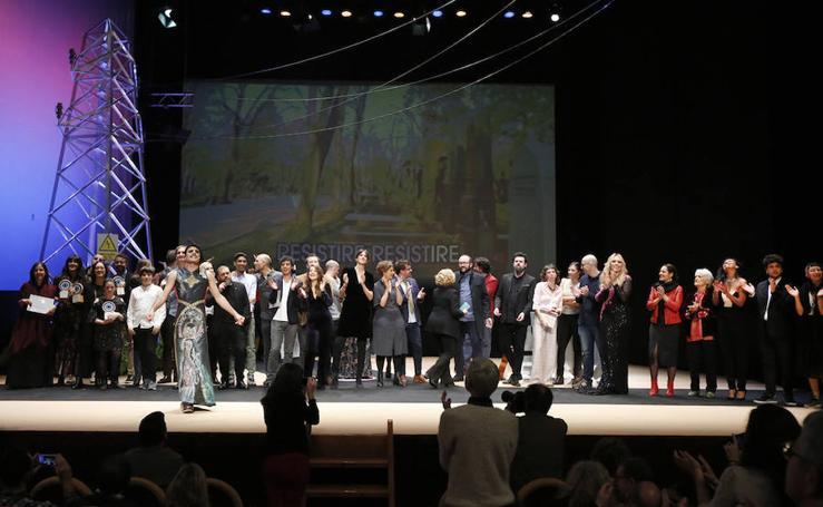Gala de clausura y entrega de premios del Festival Internacional de Cine de Gijón