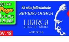 La ONCE recuerda con un cupón a Severo Ochoa al cumplirse 25 años de su fallecimiento