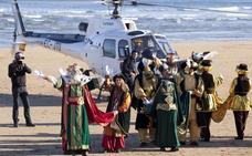Los Reyes Magos llegarán en helicóptero y aterrizarán junto al Elogio el 5 de enero