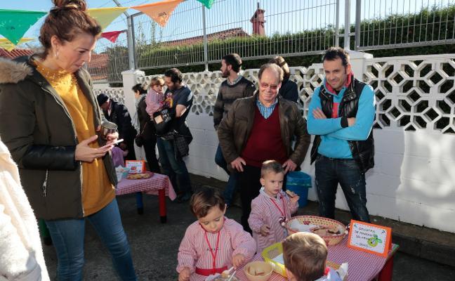 La Escuela Infantil de El Bibio celebra su fiesta del otoño