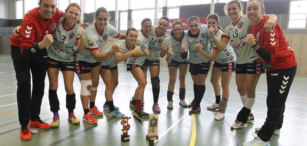 El Liberbank Gijón se adjudica la Copa Principado femenina