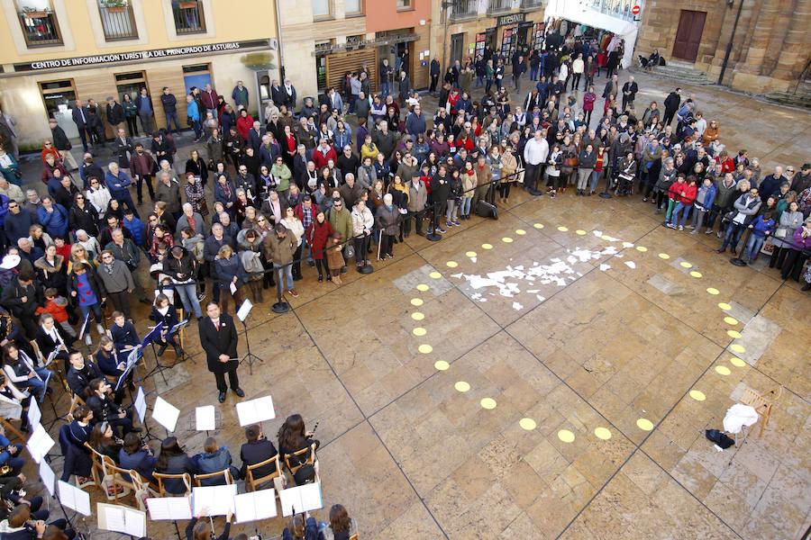 Música contra el maltrato en Oviedo