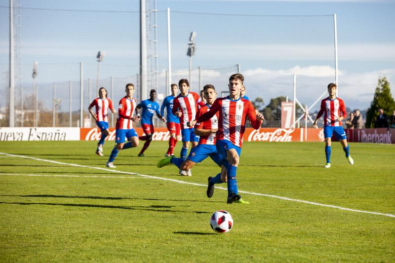 Sporting B 2 - 3 Calahorra, en imágenes