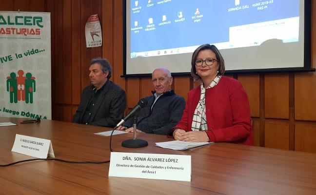 Los nefrólogos de Avilés piden más presencia en Jarrio, que lleva un año sin especialista