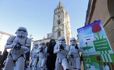 Mercadillo de la Asociación Parkinson Asturias al ritmo de Star Wars