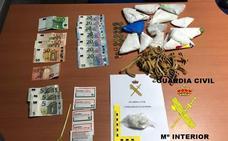Dos detenidos por tráfico de drogas en Grandas de Salime