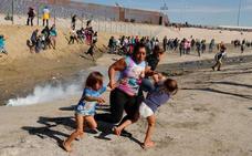 México deportará a unos 500 inmigrantes que trataron de entrar en EE UU «de forma violenta»