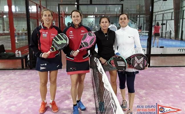 María Pardo y Cristina Argüeso, oro en el regional