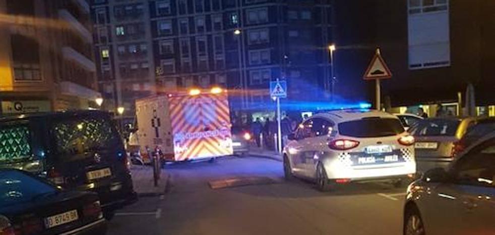 Heridos dos menores en un atropello en Versalles, en Avilés