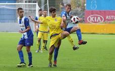 El Avilés-San Claudio acabó como empezó (0-0)