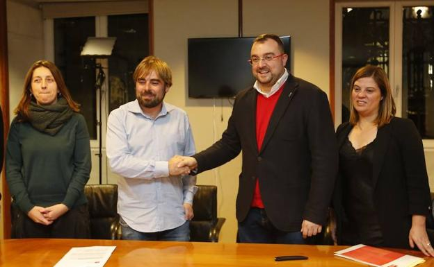 Resultado de imagen de pacto presupuestario asturias