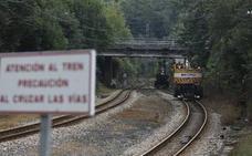 El cierre de El Berrón-Laviana afectará a 270 trenes de Feve a la semana