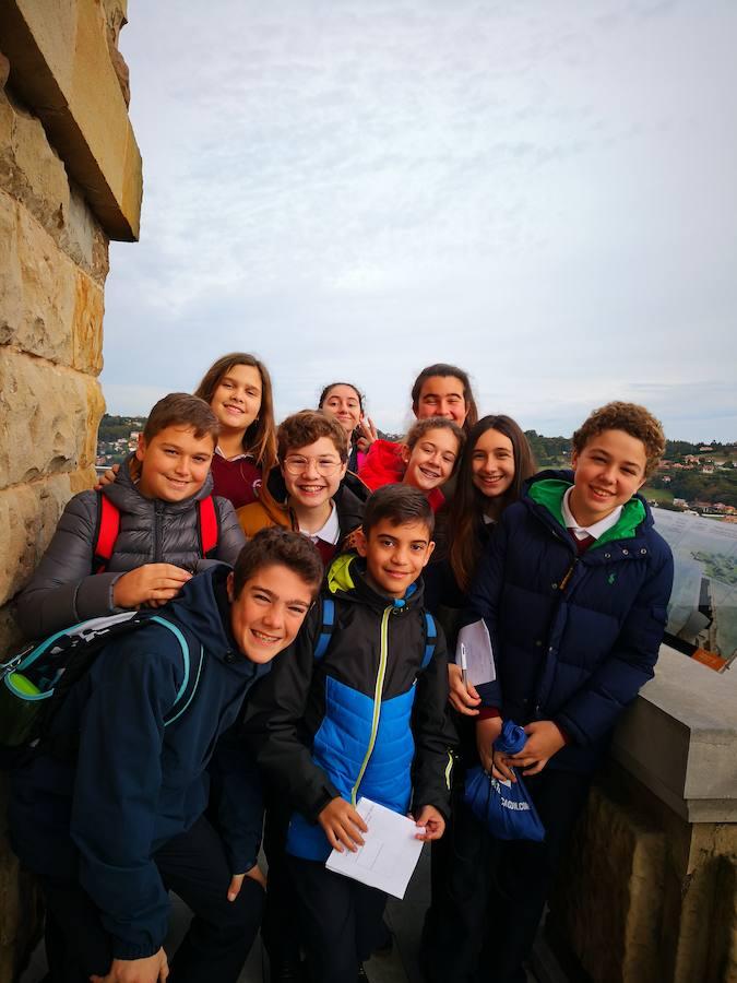 Los alumnos del San Vicente de Paúl visitan la Laboral