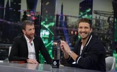 El baile que se marcaron Pablo Alborán y Pablo Motos en 'El Hormiguero'