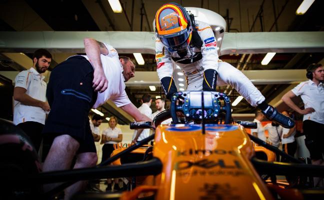 Sainz se estrena en McLaren con 150 vueltas