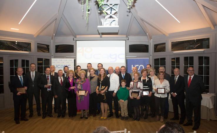 Entrega de los Premios UCAYC