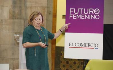 Rosa Menéndez: «Hay que ser ambiciosas y no tener miedo a ningún reto»