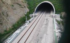 Las vías de la variante son aptas para velocidades de 275 kilómetros por hora