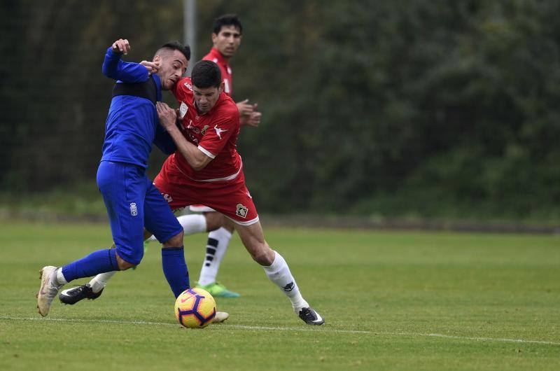Entrenamiento del Real Oviedo (29/11/2018)