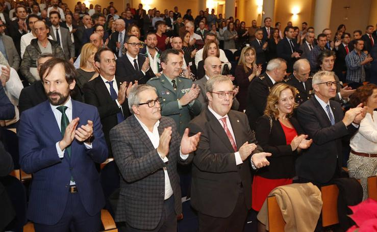 Hunosa celebra Santa Bárbara, patrona de los mineros, con la entrega de los Premios a la Antigüedad